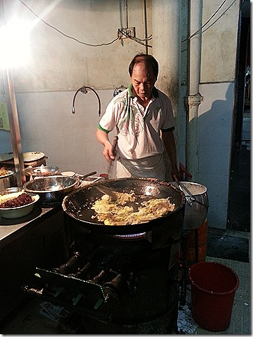 Oyster Omelette Man