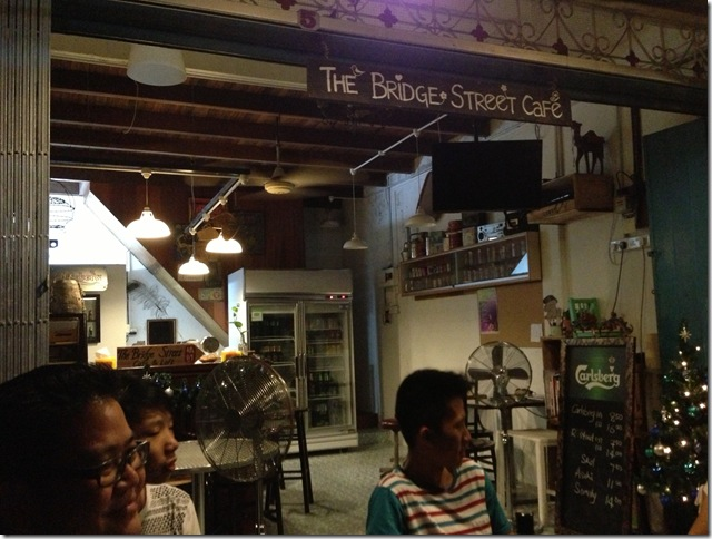 The Bridge Street Cafe, Lorong Jambatan