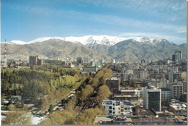 Tehran in April 2002