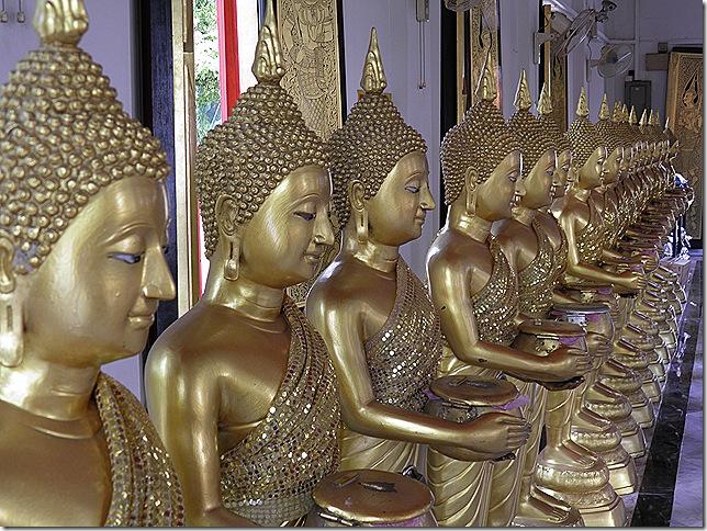 Inside the main shrine at Wat Chetawan