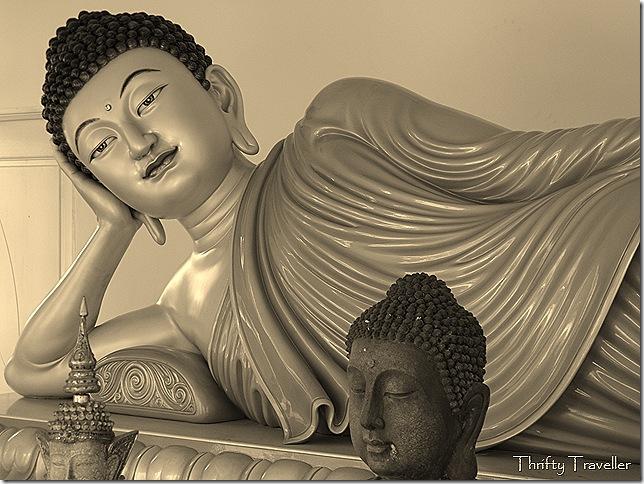 Reclining Buddha at Thai Buddhist Chetawan Temple, Petaling Jaya