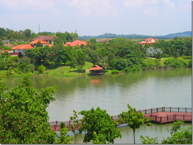 View of Precinct 10, Putrajaya from the Botanical Garden