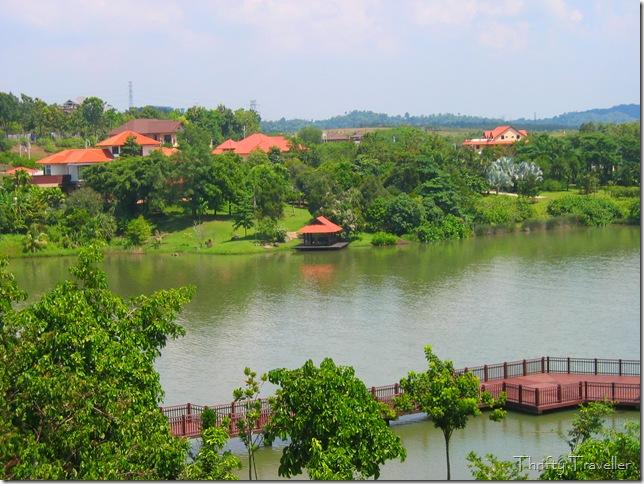 View of Precinct 10, Putrajaya from the Botanical Garden