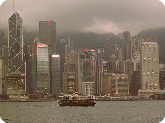 Hong Kong April 2013