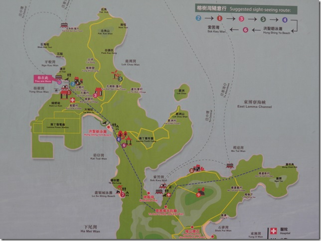 Map of Lamma