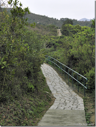 Well maintained paths on Lamma.