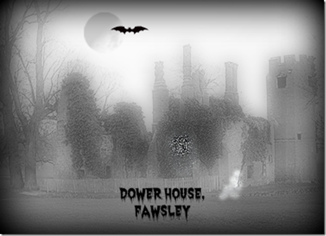 Ghostly apparitions at Dower House.