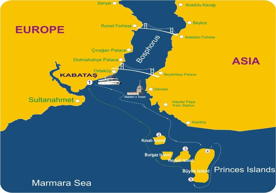 Princes Islands Tour