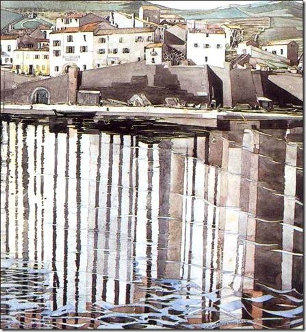 La Rue de Soleil, Port Vendres 1926