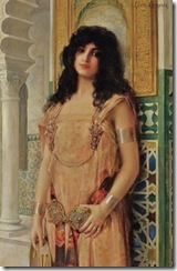 Circassian Beauty by Léon-François Comerre (French artist, 1850-1916)