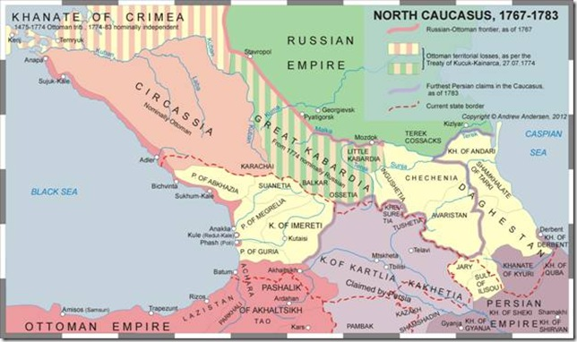 North Caucasus 1767-1783
