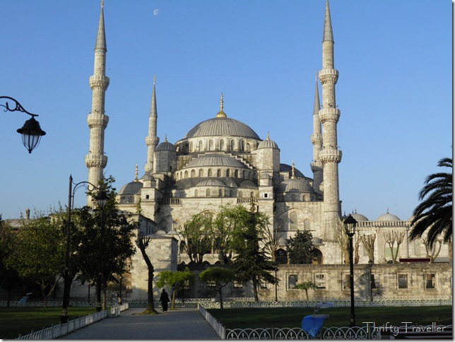 Blue Mosque at 7am