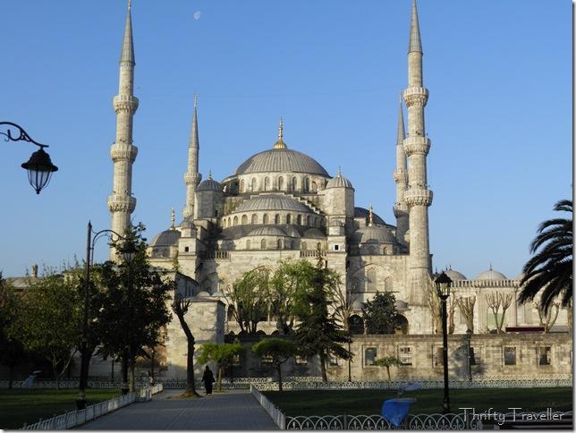 Blue Mosque at 7am