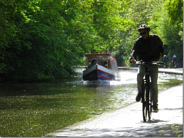 Towpath of Regent's Canal