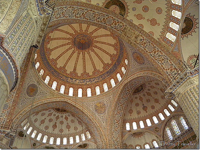 Main dome of the Blue Mosque