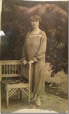 Mrs. Hanss Anna, Ottoman Bank employee