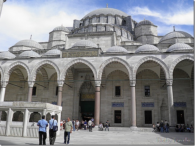 Inner Courtyard at Suleymaniye Mosque