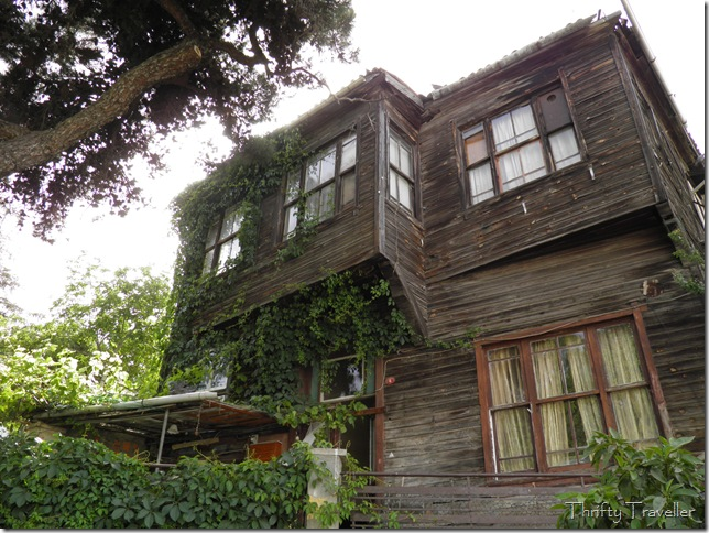 Heybeliada has many 19th century wooden houses, some in better condition than others.