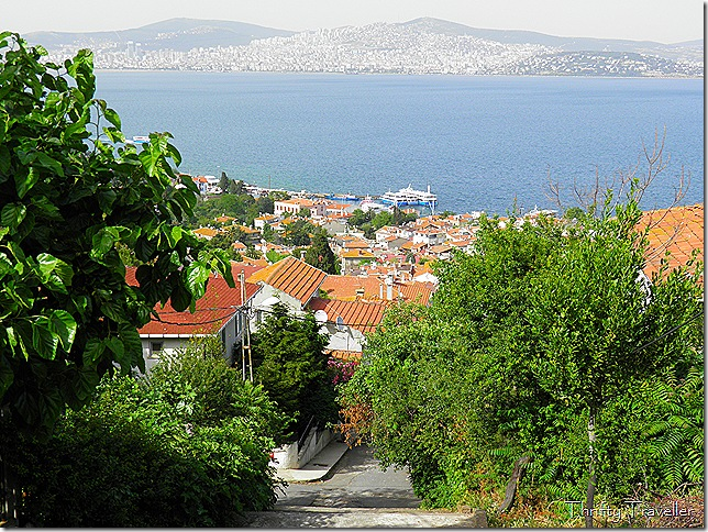 View towards Kadikoy from Heybeliada.