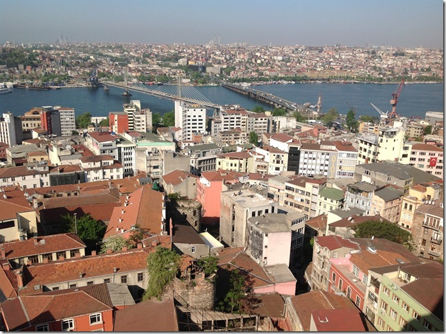 Assassin's eye view from Galata Tower.