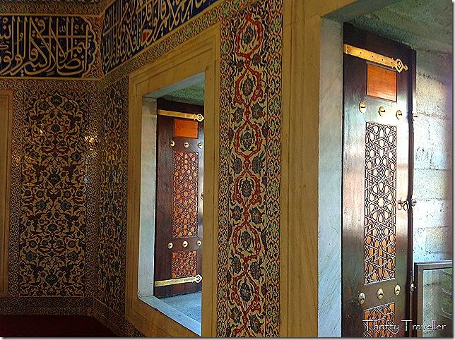 Iznik Tiles at Rustem Pasha Mosque