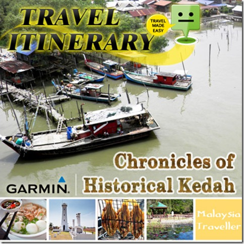 Garmin Malaysia Traveller Itinerary