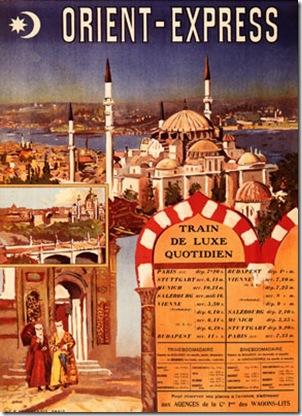 Vintage Orient Express Poster