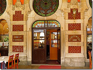 Orient Express Restaurant at Sirkeci station