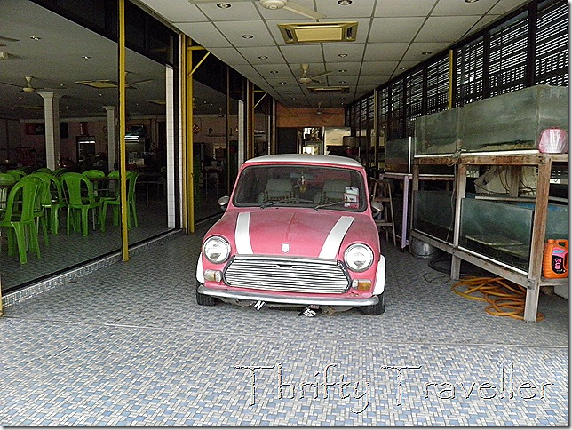 Mini in a restaurant at Gopeng