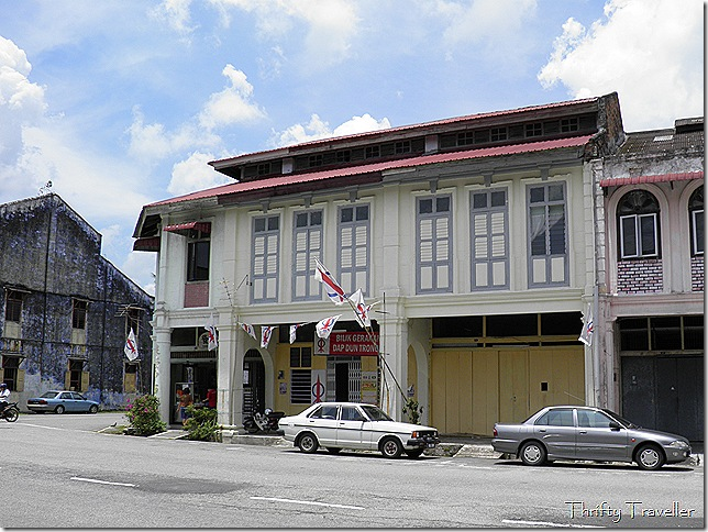 Old shophouses in Tronoh