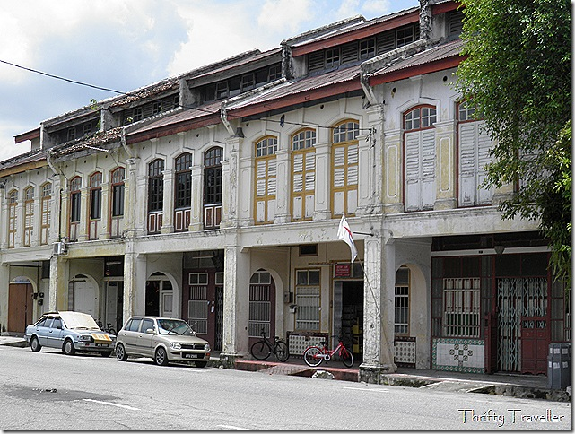 Some well maintained shophouses