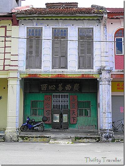 Classic shophouse, Tronoh