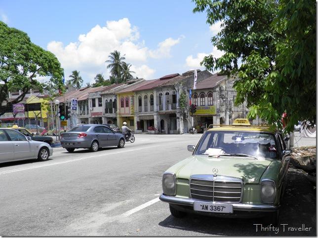 Taxi rank at Pusing, Perak