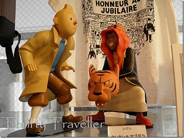 Tintin in Tokyo