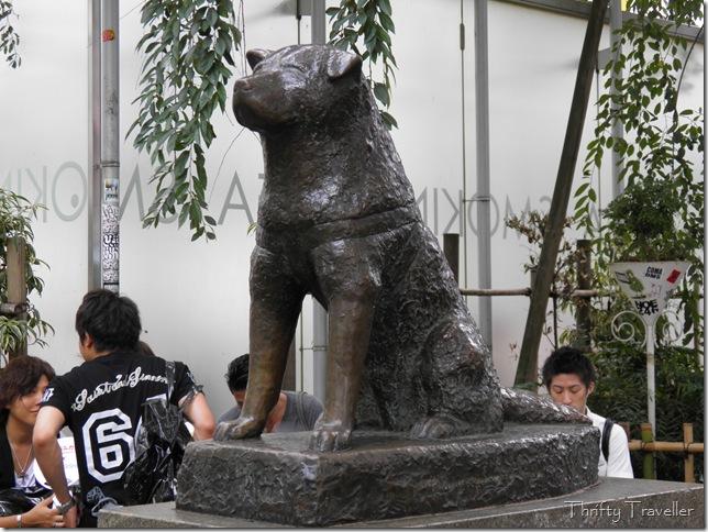 Hachiko statue at Shibuya