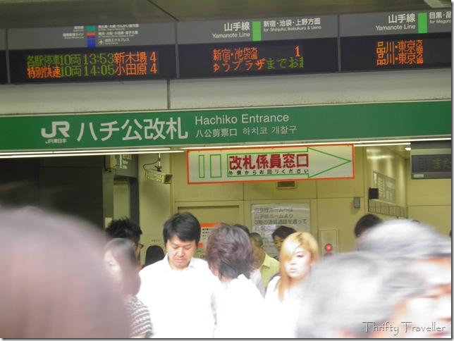 Hachiko Entrance, Shibuya Station