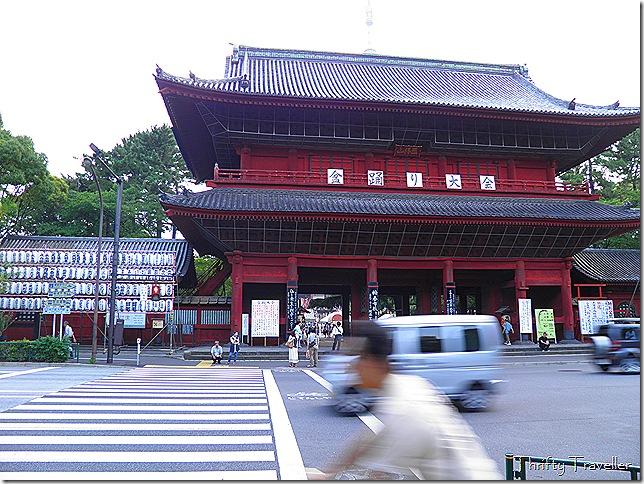 Sangedatsumon
