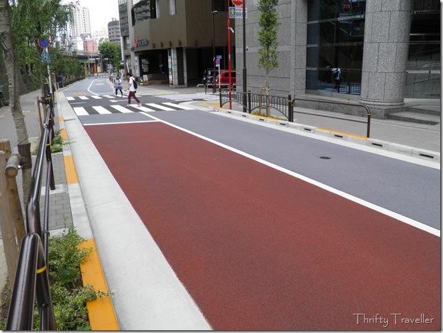 Spotless street in Tokyo