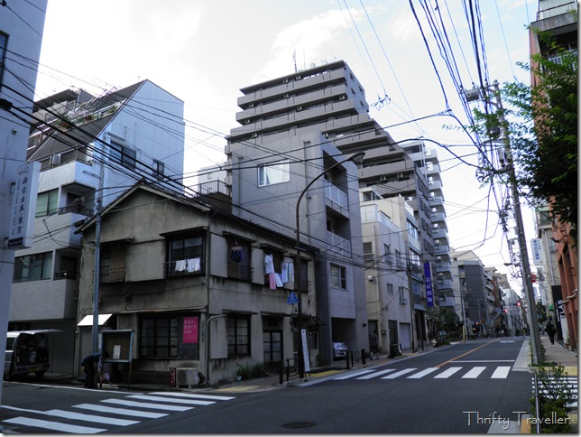 Two storey house in central Tokyo