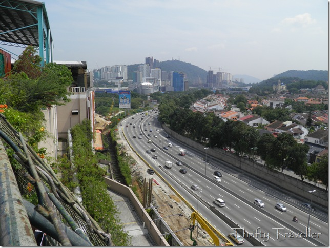 View from the rooftop of 1 Utama Shopping Mall