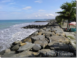 Breakwater at Padang