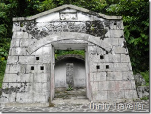 Dutch fortification at Padang Hill