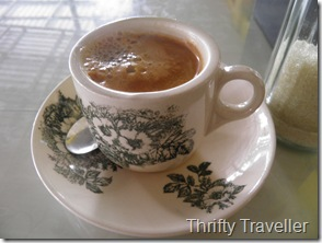 Luwak Coffee, Padang