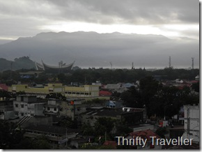 View of Padang at dawn