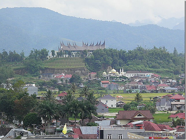 View of Bukittinggi from Fort de Kock