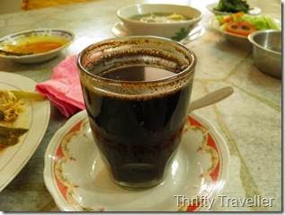 Hidang style Padang cuisine