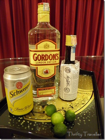 Ingredients of Travellers Gin