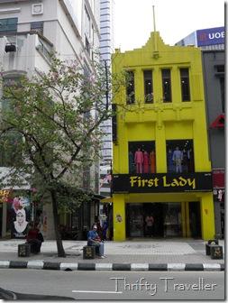 Art Deco style shophouse, Jalan Tuanku Abdul Rahman