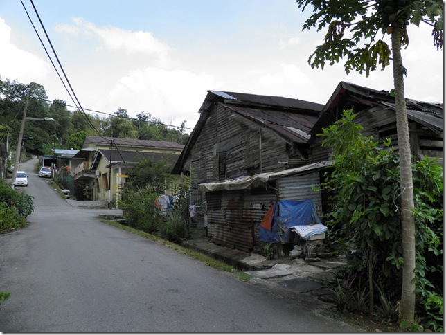 Wooden Houses at Bukit Chandang