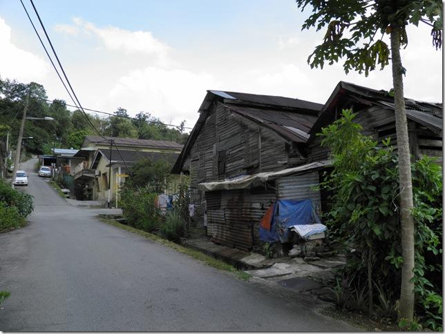 Wooden Houses at Bukit Chandang